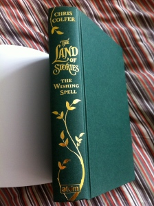 Land of Stories Spine