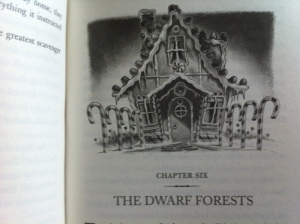 Land of Stories Chapter Six Title Illustration