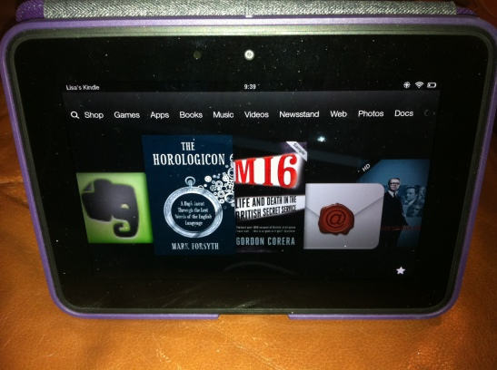 Kindle Fire with The Horologicon