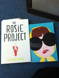 The Rosie Project by Graeme Simsion and Where'd You Go, Bernadette by Maria Semple proof copies