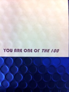 The 100 Envelope