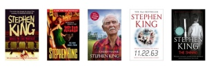 Stephen King Goes to the Movies, Joyland, Under the Dome, 11.22.63 & The Shining all by Stephen King