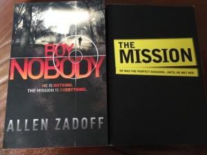 Boy Nobody and The Mission by Allen Zadoff